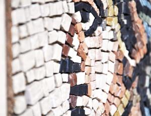 "Roman mosaic ""Testina d'oceano"""